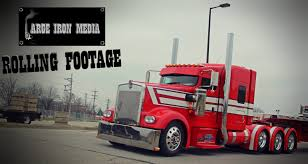 100 Mabe Trucking Large Iron Media NEVER SATISFIED 2008 Kenworth W900L Facebook