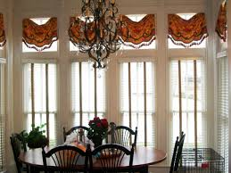Exellent Window Treatments Ideas Dining Room For Bay Windows Formal Living Category With Post
