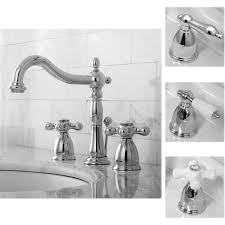 Sink Handles Turn Wrong Way by Victorian Chrome Widespread Bathroom Faucet Free Shipping Today