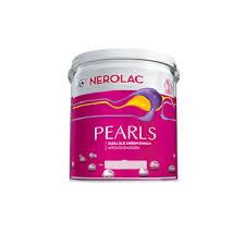Generic Nerolac Pearl Emulsion Acrylic Paint White 1L Amazonin