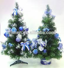 New Design PVC Mini Christmas Tree Slim Artificial Trees For Grave Decorations