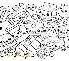 Kawaii Coloring Pages With Crush