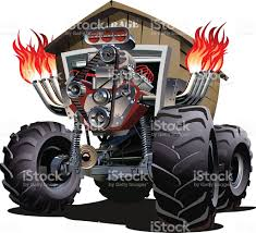 Cartoon Monster Truck Stock Vector Art & More Images Of 4x4 ... Monster Truck Clip Art Clipart Images Clipartimagecom Cartoon Royalty Free Vector Image 4x4 Buy Stock Cartoons Royaltyfree Monster Truck Available Eps10 Vector Format With Illustrations Creative Market Red