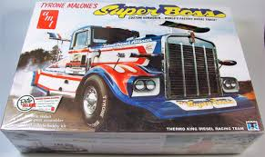 Kenworth Drag Truck - AMT | Car-model-kit.com