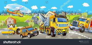 100 Free Tow Truck Games Cartoon Road Roller Pilot Stock Illustration Royalty