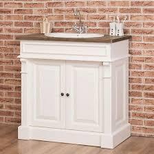 waschtisch waschbeckenunterschrank badezimmer möbel landhaus