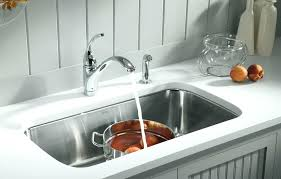 Kohler Hartland Sink Rack by Kohler Hartland Drop In Cast Iron 33 4 Hole Double Basin Kitchen