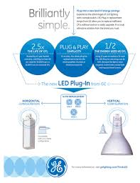 Lunera Susan Lamp Horizontal by Ge 4 Pin Led Replacement For Cfl Commercial Lighting Products