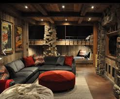 Modern Lodge Style Bunk Room Great Example