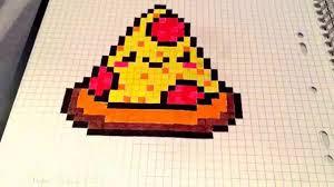 Pikachu Pixel Art Facile Simple Coloriage Pixel Art Pokemon Beau