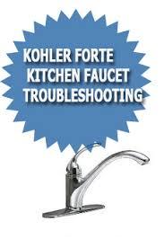 Kohler Forte Kitchen Faucet Leaking by Kohler Forte Kitchen Faucet Troubleshooting Asheville Plumber