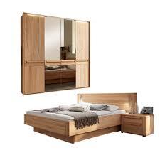 wöstmann wsm 2300 schlafzimmer 2 teilig bestehend aus bettanlage liegefläche wählbar und 4 türigem drehtürenschrank optional mit passepartout