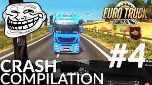 Euro Truck Simulator 2 Multiplayer Funny Crash Compilation #4
