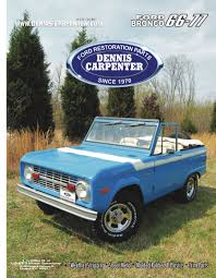 1966-77 Ford Bronco Parts By Dennis Carpenter Ford And Cushman ... 1956 Ford F100 Panel Hot Rod Network Steering Wheel Dennis Carpenter Restoration Parts With Regard Vintage Ford Coe Carpenter Coupons Sti Mobile Refill Coupon Partsrandy Catalog 80 96 Trucks Pdf A8tz533a Drag Link Repair Kit Youtube Pickup 4852 Taillight Bracket Repair Truck Enthusiasts Forums No 34t 481956 Dennis Carpenter Ford Restoration Parts 671972 Truck Back