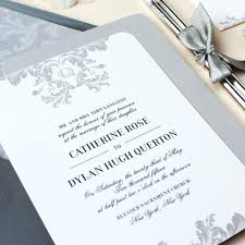 Template Elegant Wedding Invitation Unique Invitations Simple But Awesome Art Of Grey Accent De