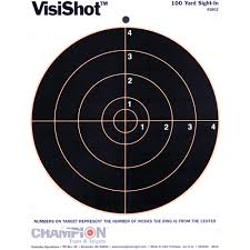 Halloween Contact Lenses Target by Champion Traps And Targets Visishot Target 8 5