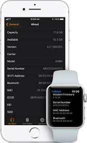How to find the serial number or IMEI for your Apple Watch Apple