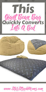 Cordaroys Bean Bag Bed by Giant Bean Bag Bed Star Struck Moms