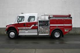 100 Freightliner Fire Trucks Fighting In Canada