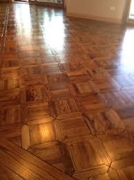 Monticello Jeffersonian Pattern Parquet Wood Floor