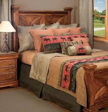 Incredible Rustic Warm Lodge Bedding All Modern Home Designs With
