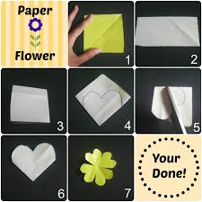 Make Easy Paper Flowers