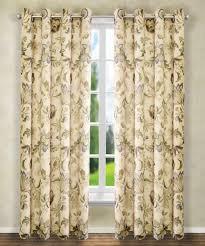 Jacobean Floral Country Curtains brissac floral grommet curtain u0026 valance collection paul u0027s home