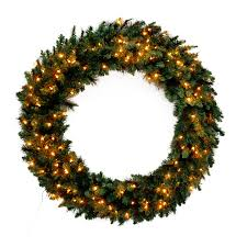 Lowes Canada Outdoor Christmas Decorations by Shop Artificial Christmas Wreaths At Lowes Com