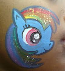 Easy Rainbow Dash Pumpkin Stencil by 92 Best Face Paint My Little Pony Images On Pinterest Body
