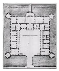 Chateau Floor Plans Château D Haroué Ground Floor Plan Architektur Grundriss