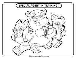 Disney Junior Coloring Pages 4