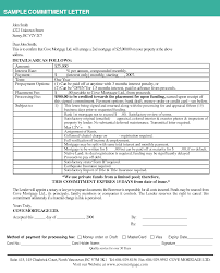 25 of Mortgage mitment Letter Template
