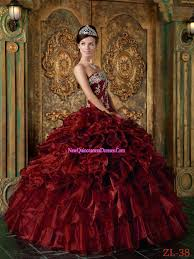 red dress quinceanera theme red dress