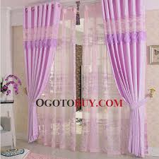 Curtains For Girls Room by Modern Style Elegant Cotton Blend Purple Curtain For Girls Room