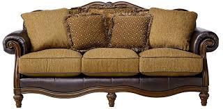 World Market Khaki Luxe Sofa by Amazon Com Ashley Furniture Signature Design Claremore Sofa