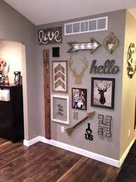 Hallway Wall Decor Best Ideas On Stairwell Decorating Accent Walls In Living Room