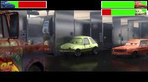 Cars Bathroom by Cars 2 Bathroom Fight With Healthbars Youtube