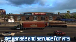 Big Garage And Service For ATS V 1.0 Mod For American Truck ... Truck Trailer Transport Express Freight Logistic Diesel Mack Ats St Cloud Mn Anderson Trucking Service Drive4ats Truckstop Pics From My Last Excursion 06212011 Services Inc Rays Heavy Haul Experts Haulage Gormley Ontario Peterbilt 579 Pam Transportation Skin Mod I75 Findlay Ohio Alltruckingcom Port Strike Shipping Matters Blog