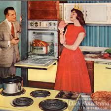How To Be A Perfect Fifties Housewife In The Kitchen