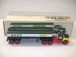 Amazon.com: 1972 RARE Hess Toy Gasoline Oil Truck: Toys & Games