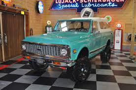 100 K5 Truck 1972 Chevrolet Blazer 44 Convertible Pickup No Reserve