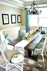 Bench Cushion Dining Room Table With B You