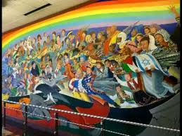 denver murals international airport colorado youtube