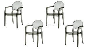 chaise design transparente chaises design transparente baroques et empilables luisa
