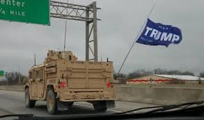 100 Truck Flag A Special Warfare Unit Was Spotted Flying A Trump Flag In Public