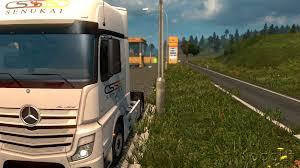 Ets2 Truck Skin Mercedes Actros 2014