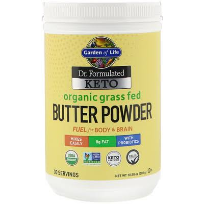 Garden of Life Dr. Formulated Keto Organic Grass Fed Butter Powder