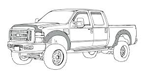 100 Monster Truck Drawing Ford S Easy