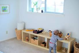 Feeding the Soil Montessori Bedroom for a e Year Old