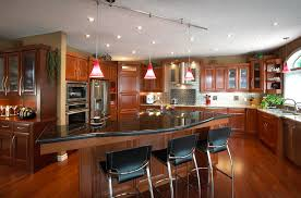 Large Kitchen Design Ideas With Lamps